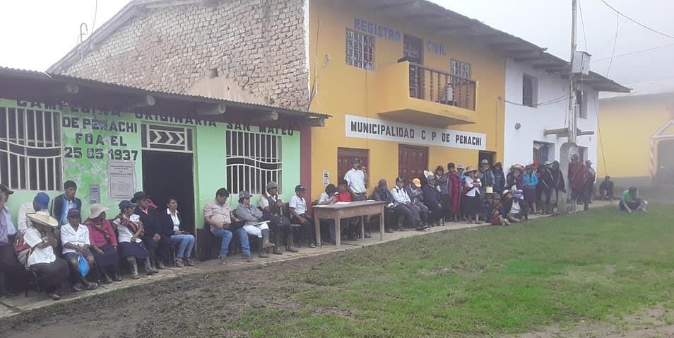 Peru Community Meeting Penachi - Coast to Coast Coffee